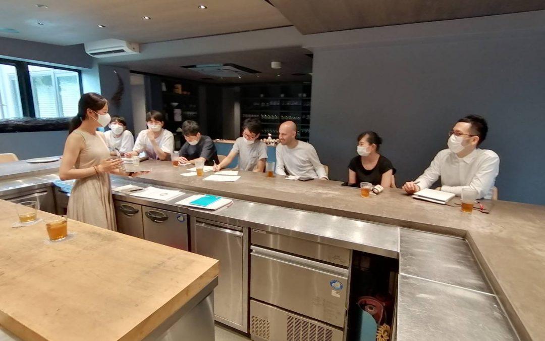 会員レストランOdeスタッフの皆様とSRA-Jユースによる相互の学びの場